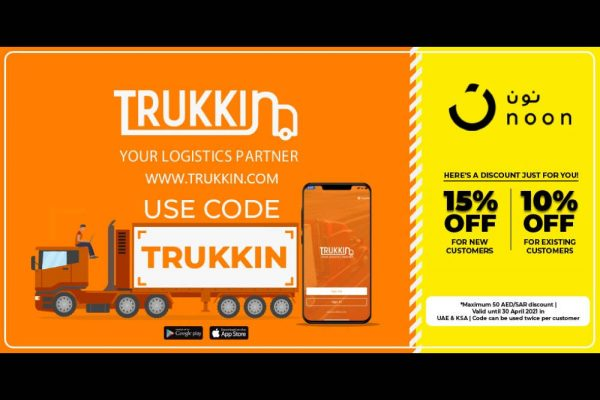 Trukkin Partners with Noon to Bring you a Truck loads of Discount!